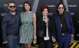 Sharon Osbourne has said her son Jack is doing 'really well' following his MS diagnosis
