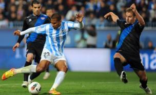 Salomon Rondon scored 11 La Liga goals last season (AFP/Getty Images)