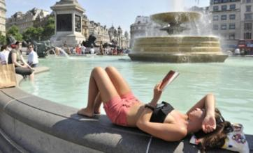 Southern UK set for sweltering weekend with temperatures of 30C