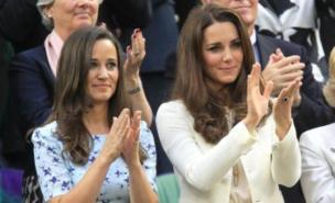 Pippa and Kate Middleton make the perfect woman when combined (PA).