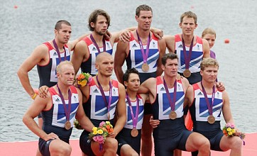 Team GB's men's eights come third as Germany win gold at Eton Dorney
