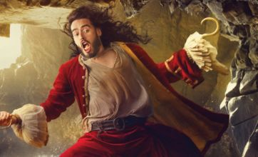 Russell Brand morphs into Captain Hook for Disney Dream portrait