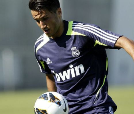 Real Madrid's Turkish midfielder Nuri Sahin