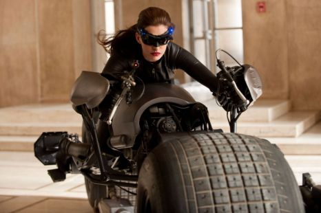 Anne Hathaway stars as Catwoman in The Dark Knight Rises