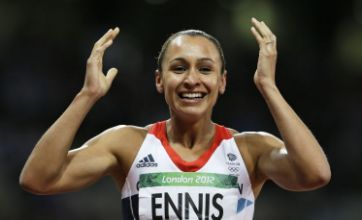 Jessica Ennis secures gold for Team GB after seeing off heptathlon rivals
