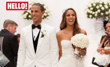 Rochelle Wiseman admits there were tears when she married Marvin Humes