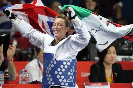 Team GB's Jade Jones gold medal