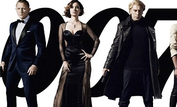 Skyfall posters show Daniel Craig and Javier Bardem in character