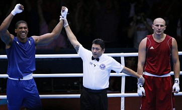 Anthony Joshua and Freddie Evans to fight for London 2012 boxing gold