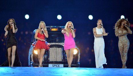 Olympics closing ceremony was perfect send-off for the Spice Girls