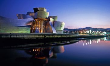 Reinvented Bilbao is beautiful and strange in equal measure
