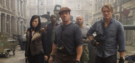 The Expendables 2, review.