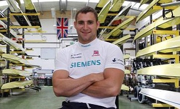 Paralympic rower Tom Aggar sets sights on matching Olympic greats