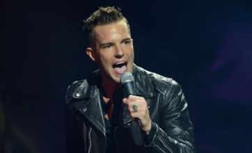 The Killers know how to push the 'epic' button at V Festival 2012