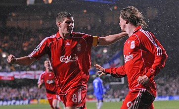Gerrard is clearly missing Torres at Liverpool – he's in his dream team