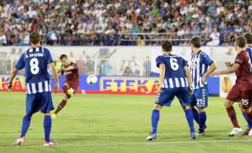 Ryan Taylor fires home to save Newcastle against Atromitos