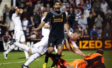 Liverpool take the upper hand with 1-0 win against Heart of Midlothian