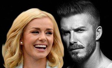 Katherine Jenkins calls in police over David Beckham 'affair' death threats
