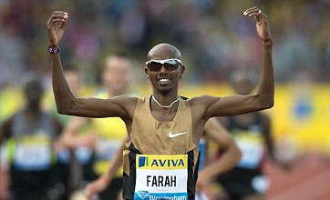 Mo Farah reveals plan to engrave gold medals for newborn twins after win