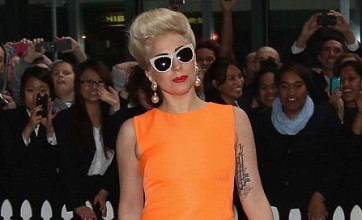 Lady Gaga strips naked in studio to record new album ARTPOP