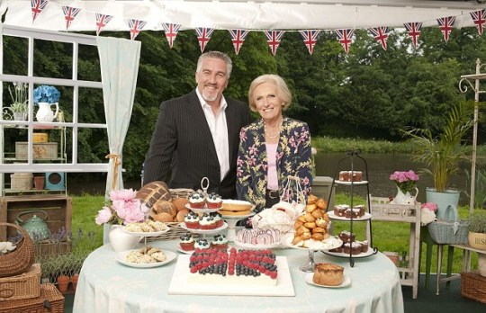 Paul Hollywood, Mary Berry, The Great British Bake Off