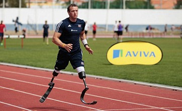 Richard Whitehead looking for more than gold at London 2012 Paralympics