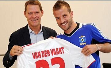 Rafael van der Vaart makes transfer from Tottenham to Hamburg