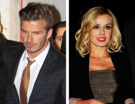 All Katherine Jenkins did was deny an affair with David Beckham. Give her a break.