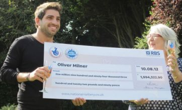 Mother tells son to move out after his £2million EuroMillions win