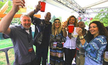 Beyonce gives Kim Kardashian the cold shoulder at music festival