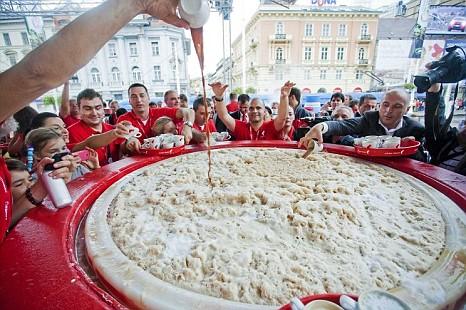 World's largest cappuccino, Croatia