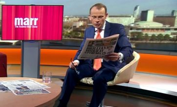 Andrew Marr and Dermot Murnaghan caught on camera kissing two women