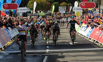 Mark Cavendish sprints to third stage win on Tour of Britain