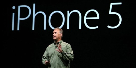 iPhone 5 launch by Apple's Phil Schiller