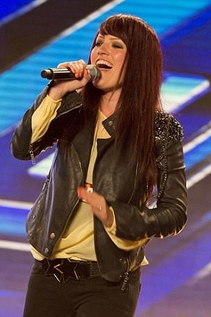 X Factor Hayley Evetts