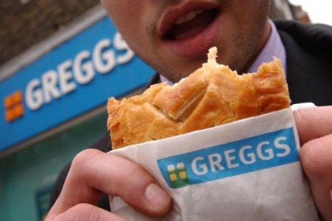 Greggs pasty