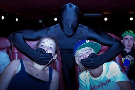 Prince Charles Cinema, morphsuit, conema ninjas
