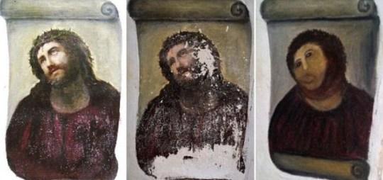 Cecilia Gimenez, Jesus fresco, Ecce Homo, Elias Garcia Martinez