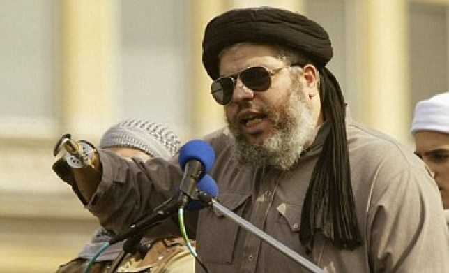 Radical cleric Abu Hamza has waged a long-running battle against being sent to the USA (Picture: Getty)