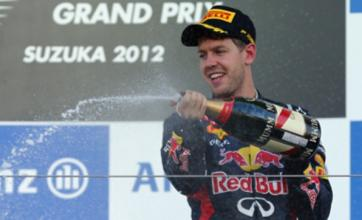 Sebastian Vettel triumphs in Japan as Fernando Alonso crashes out