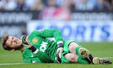 Manchester United's David de Gea 'targets return to Spain'