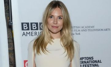 Sienna Miller is alright in white at the Hamptons International Film Festival