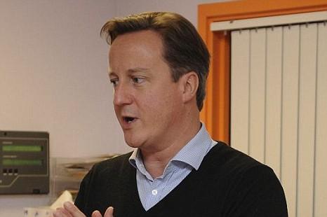 David Cameron, IMF.
