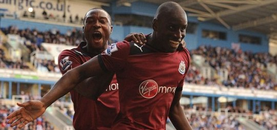 Newcastle United's Demba Ba