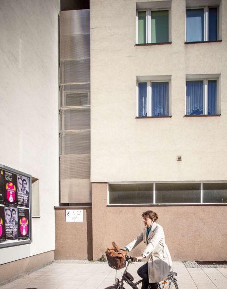 World's thinnest house, Warsaw, Poland, Keret House, Jakub Szczesny