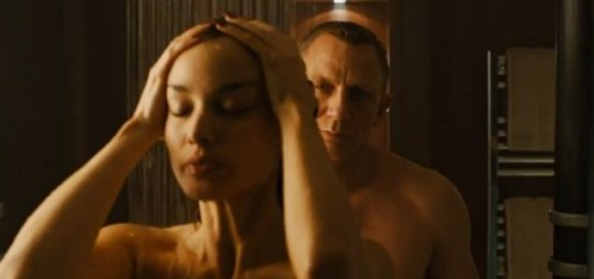 Image result for james bond severine shower