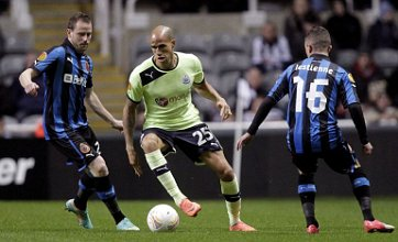 Alan Pardew: Newcastle are indebted to Obertan for Club Brugge win