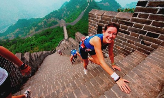 The Great Wall Marathon.