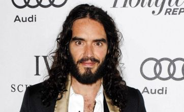 Russell Brand shamelessly flirts with married actress Katherine McPhee