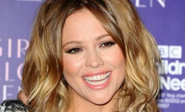 Kimberley Walsh set to fly across the ballroom on Strictly Come Dancing